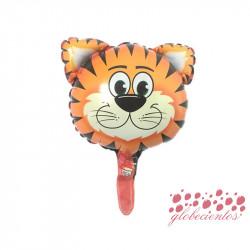 Globo diseño tigre 30x25 cm