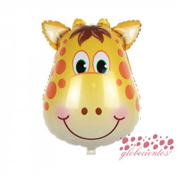 Globo diseño jirafa 44x27 cm