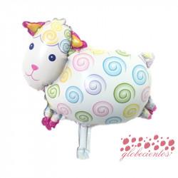 Globo diseño oveja 43x31 cm