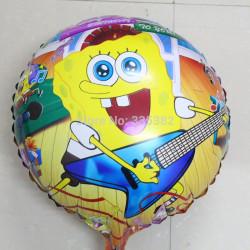 """Globo de foil """"Bob Esponja guitarrista"""""""