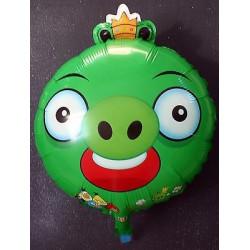 Globo Angry Birds verde