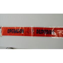 """Banda """"operación despedida"""""""
