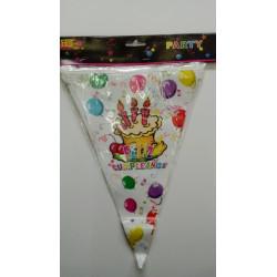 Banderines feliz cumpleaños