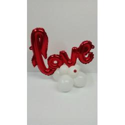 """Globo """"LOVE""""con base"""