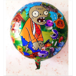 "Globo foil ""Plants vs Zombies"""