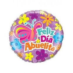 """Globo foil """"feliz día abuelita"""""""
