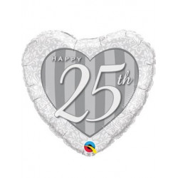 "Globo foil "" 25 aniversario"""