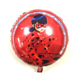 "Globo redondo ""LADY BUG"", 45 cm"