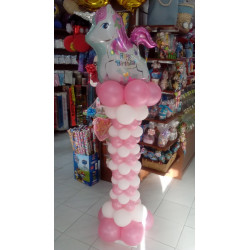 columna unicornio happy