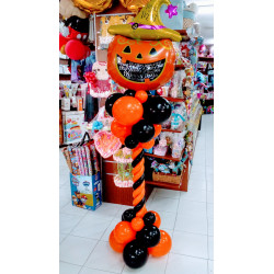 Columna halloween con calabaza B
