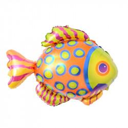 Globo pez tropical, 85x70 cm