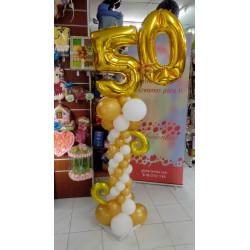Columna 50 dorado