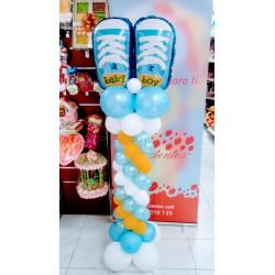Columna zapatos bebe