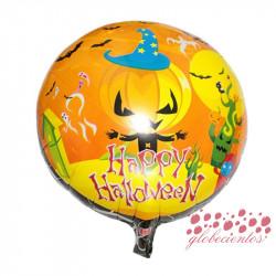 "Globo ""Happy Halloween "" diseño 9, 45 cm"