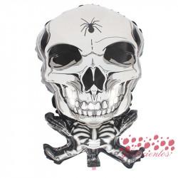 Globo forma esqueleto, 45x45 cm