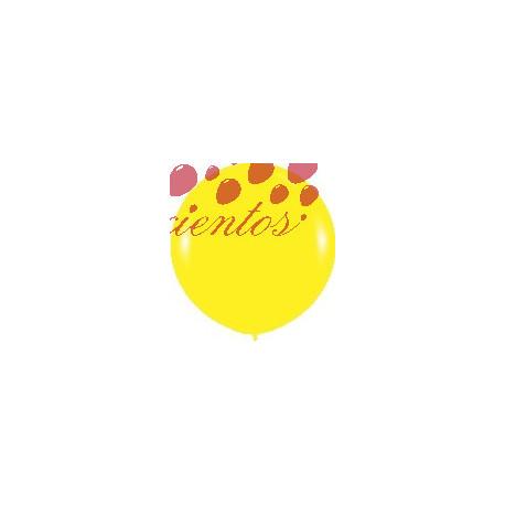 Globos color amarillo  90cm