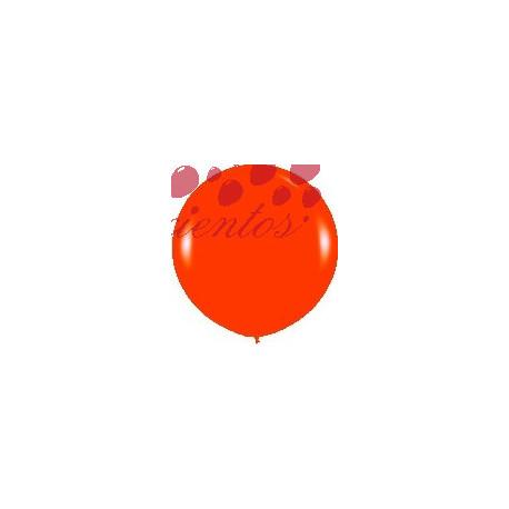 Globo color naranja  90cm