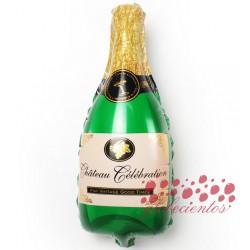 """Globo botella celebración pequeña """"Château Célébration"""", 43x25 cm"""