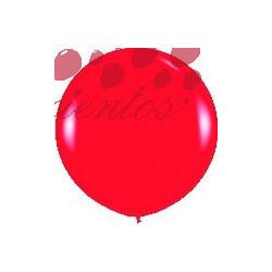 Globo color rojo  90cm