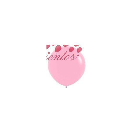 Globo color rosado  90cm