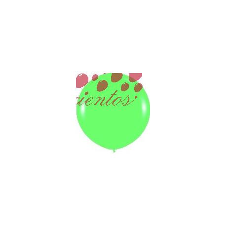 Globo color verde  90cm
