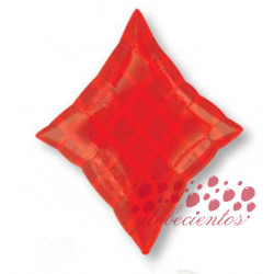 Globo forma diamante baraja de poker, 45 cm