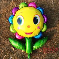 Globo forma flor,90x68 cm