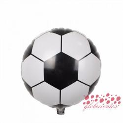 Globo diseño balón fútbol , 45 cm