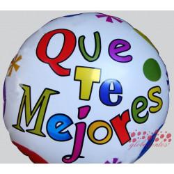 """Globo diseño """"Que te mejores"""", 45 cm"""