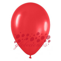 Globos color rojo 30cm