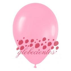 Globos color rosado 30cm