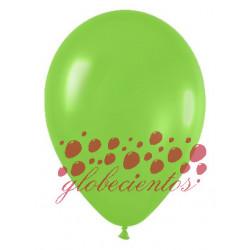 Globos color verde lima 30cm