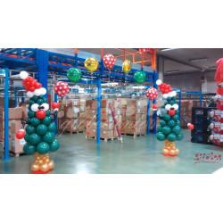 Decoración navideña para empresas