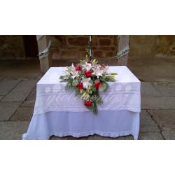 Arreglo floral para mesa