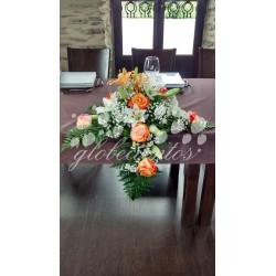 Arreglo floral para mesa modelo 3