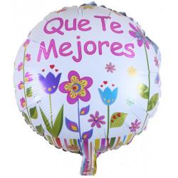 """Globo """"Que Te Mejores"""" diseño 4, 45 cm"""