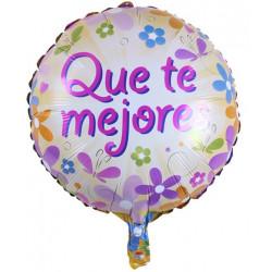 """Globo """"Que Te Mejores"""" diseño 5, 45 cm"""