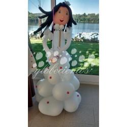 Figura de globos niño/a 110cm