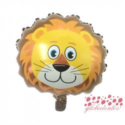 Globo diseño león 37x30 cm