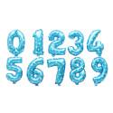 Números azules
